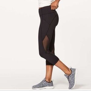 lululemon Sweat Your Heart Out Crop